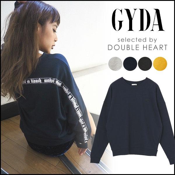 ジェイダ GYDA スリーブグラフィックプルオーバー レディース プルオーバー スウェット 大きめ ゆったり 071752701901