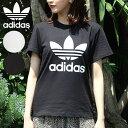 《ポイント20倍》アディダスオリジナルス adidas originals 通販 TREFOIL TEE レディース トップス Tシャツ 半袖 カッ…