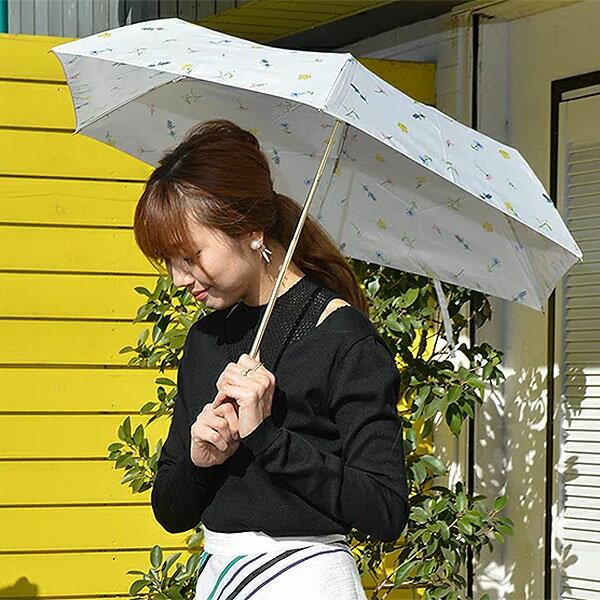【ポイント10倍】BE SUNNY ビーサニー 3段折りたたみ傘 ガーデン 折りたたみ傘 3段折 晴雨兼用 レディース 女性用 傘 日傘 雨傘 UVカット 紫外線カット 紫外線対策 耐風 軽量 撥水 コンパクト pink trick ピンクトリック