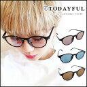 TODAYFUL トゥデイフル LIFE's ライフズ 通販 (6月中旬予約) Color Lens Sunglasses カラーレンズサングラス レディース ...
