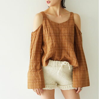 TODAYFUL today full LIFE's life mail order end of July reservation Dobbty Offshoulder Blouse ドビーオフショルダーブラウストップスレディースオフショルカットソー Satoshi Yoshida incense 11720402