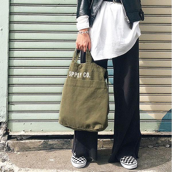 TODAYFUL トゥデイフル LIFE's ライフズ 通販 Logo Shoulder Bag ロゴショルダーバッグ バッグ レディース ショルダーバッグ ハンドバッグ 白 ネイビー シンプル ロゴ 2way a4 11621035 [クーポン利用不可] セール除外品
