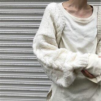 TODAYFUL today full LIFE's life mail order end of September reservation Hand Kint Bolero hand knit bolero Lady's tops knit bolero long sleeves plain fabric Shin pull 2018 autumn 11820520 [use of coupon impossibility]
