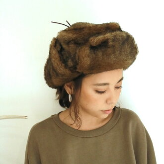 TODAYFUL today full LIFE's life mail order end of November reservation Flight Fur Cap flight fur cap Lady's cap flight cap hat fur stylish present casual Satoshi Yoshida incense 2018 winter 11821021 [use of coupon impossibility]