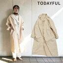 TODAYFUL トゥデイフル LIFE's ライフズ 通販 Vintage Twill Coat ヴィンテージツイルコート レディース アウター コ…