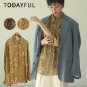 TODAYFUL トゥデイフル 20春夏 Vintage Marble Shirts ヴィンテージマーブルシャツ レディース トップス シャツ 長袖 …