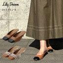リリーブラウン Lily Brown 20春夏 スクエアミュール レディース シューズ 靴 ミュール ローヒール ミディヒール スク…