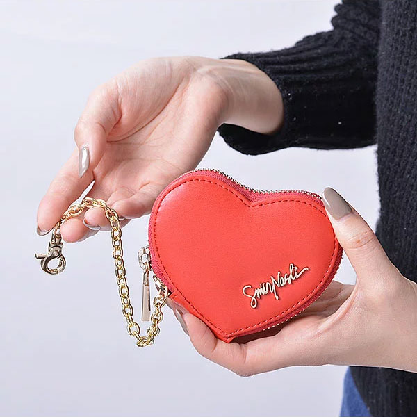 【ポイント10倍】サミールナスリ SMIRNASLI 通販 Heart Coin Charm 小銭入れ コインケース ミニ財布 財布 サイフ ポーチ 小物入れ ハート キーリング 雑貨 ギフト プレゼント 0112-32371 011232371