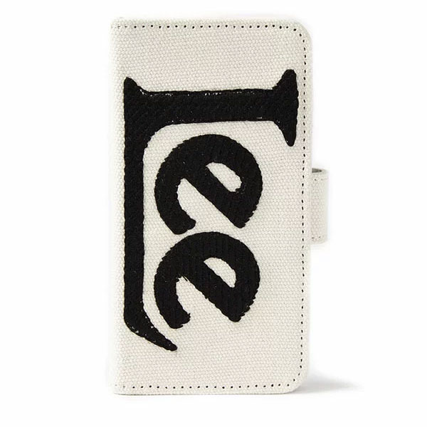 【6/6s/7/8対応】サミールナスリ SMIRNASLI 通販 【Lee×SMIR NASLI】BIG Logo Mobile iPhoneケース iPhone6 iPhone7iPhoneiPhone8 Lee リー 手帳型 ミラー付き ICカード カードケース コラボ ロゴ 0113-00084