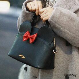 【SALE50%OFF】サミールナスリ SMIR NASLI 通販 【Minnie】Silhouette Mini Bag レディース バッグ ハンドバッグ リボン ロゴ シンプル ミニー ディズニー Disney コラボ プレゼント ブラック ピンク 0113-13319