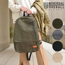 《即納》UNIVERSAL OVERALL ユニバーサルオーバーオール 通販 UVO11ポケットリュック レディース メンズ ユニセックス リュックサック バックパック バッグ 鞄 大容量 大きめ シンプル ロゴ カジュアル アウトドア レジャー アメリカ プレゼント vvuvo-003