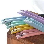 《DOUBLEHEARTセレクト》イニシャル箸1膳箸はしイニシャルキッチン天然木滑り止めプレゼントギフトかわいい23cm