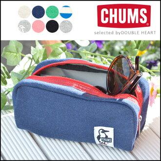 CHUMS Hurricane Pouch Sweat 허리케인 파우치 부속품 상자 브랜드 화장 파우치 필통 스웨트 파우치 CH60-0631