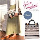 リラキャンベル Lilas Campbell 通販 LP 2WAY BAG Xel-Ha レディース バッグ 鞄 トートバッグ クラッチバッグ 2WAY ト…