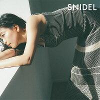 スナイデルSNIDEL通販2月下旬予約カラーブロッキングニットタンクレディーストップスニットニットタンクストライプ柄インナーブロッキングオリエンタルswnt191170