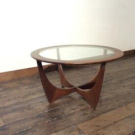ジープラン ラウンド コーヒーテーブル G-Plan Round Coffee Table(2901-014)【ダブルデイ/DOUBLEDAY/アンティーク/ビンテージ/家具/雑貨】