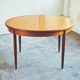 ジープラン ラウンド エクステンション ダイニング テーブル G-Plan Round Extention Table (2804-001A)【ダブルデイ/DOUBLEDAY/アンティーク/ビンテージ/家具/雑貨)】