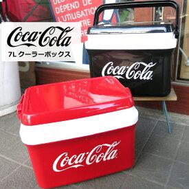 クーラーボックス コカコーラ Coca-Cola レッド ブラック 7L 持ち運び 保存用 保管用 アウトドア スポーツ観戦 プレゼント コーラグッズ コレクション インスタ映え ダブルスリー