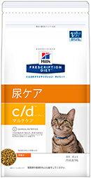 【送料無料】猫 c/d マルチケア 4kg