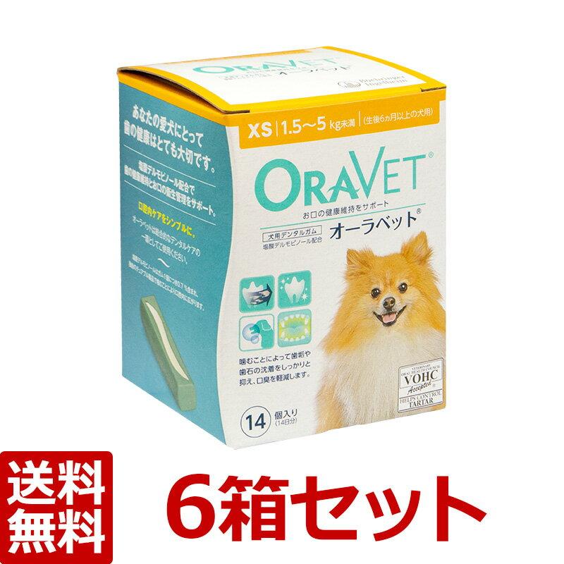 【あす楽】【オーラベット XS×6箱】【1.5〜5.0kg未満】【14個入】