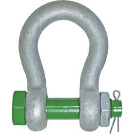 大洋 グリーンピンスタンダードシャックルGPBB バウ ボルトナット 使用荷重0.5T