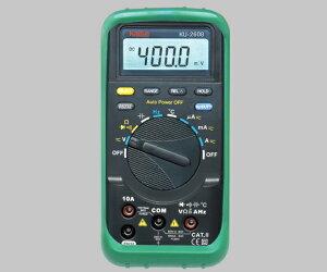 アズワン 高性能デジタルマルチメーター(オールインワンPC接続対応) 1-8719-01 《計測・測定・検査》