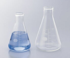 アズワン 三角フラスコ (目安目盛付き) 6-017-01 《実験器具・材料・備品》