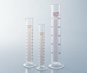 アズワン メスシリンダー 1-8561-11 《実験器具・材料・備品》