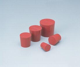 アズワン 赤ゴム栓 6号 (6-337-06) 《実験器具・材料・備品》