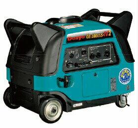 【ポイント10倍】 【代引不可】 Denyo (デンヨー) 小型ガソリン発電機 GE-2800SS-IV2 防音型 【大型】