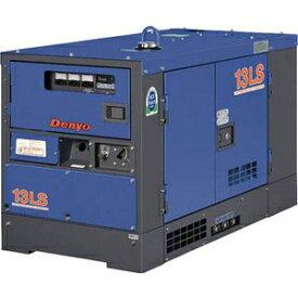 【ポイント5倍】 【直送品】 Denyo (デンヨー) 一般停電用予備発電機 TLG-13LSY(T) 【大型】