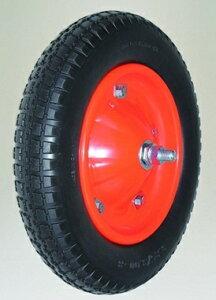 【直送品】 ハラックス タイヤセット ノーパンクタイヤ(デラックス) TR-13×3NDX (TR-13X3NDX) ベアリング付 【大型】
