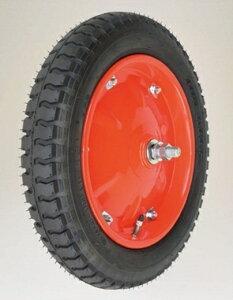 【直送品】 ハラックス タイヤセット エアータイヤ(デラックス) TR-16×3DX (TR-16X3DX) ベアリング付 【大型】
