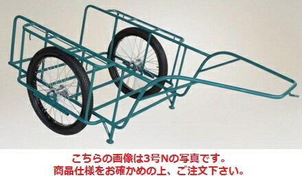 【代引不可】 ハラックス (HARAX) スチールリヤカー スチール製リヤカー 5号NG(合板パネル付) (car-5ng) 【大型】