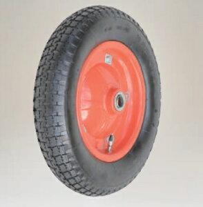 【直送品】 ハラックス タイヤセット エアータイヤ(特殊タイプ) TR-13×3T-20 (TR-13X3T-20) ベアリング付 【大型】
