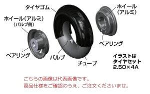 【直送品】 ハラックス 交換用タイヤゴム(2.50X4A用) TR-GM2.50 《別売部品》 【大型】