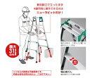 【直送品】 長谷川工業 ハセガワ はしご兼用脚立 RYH-18 (17427)