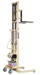 【代引不可】 カントー バッテリー電動油圧昇降式リフター エルダ35-25 (elda-35-25) (ダブルマスト式) 【メーカー直送品】