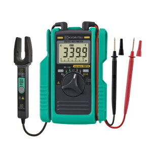 共立電気計器 AC/DCクランプ付デジタルマルチメータ KEWMATE2001A (ホルスター付)