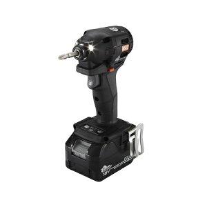 【直送品】 マックス 充電式インパクトドライバ 18Vセット PJ-ID153K-B2C/1850A (ブラック) (PJ91245) 【個人宅配送不可】