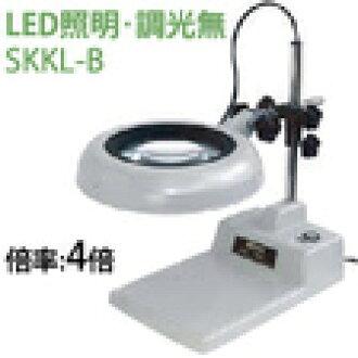 没有otsuka光学(OOTSUKA)LED照明放大镜、調光的SKKL-B局4倍