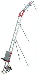 【直送品】 ユニパー スーパータワーR UP106R-Z-2F Zセット 2階用 (106-00-016) 標準セット 《荷揚げ機》 【大型】