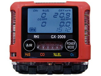 理研計器 (RIKEN KEIKI) ポケッタブルマルチガスモニター GX-2009-TYPE A