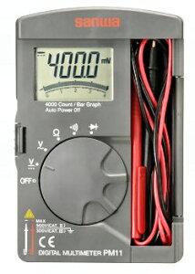 三和電気計器 (SANWA) デジタルマルチメータ PM11 (2165)