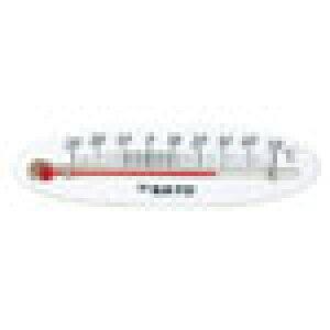佐藤計量器製作所 冷蔵庫用温度計ミニ 横型 No.1714-00