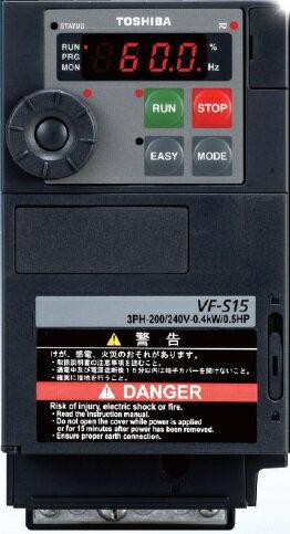 【代引不可】 東芝 (TOSHIBA) 多機能・小形インバータ VFS15-2022PM (TOSVERT VF-S15) 【メーカー直送品】