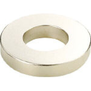 TRUSCO ネオジム磁石 外径10mmX穴径5mmX厚5mm 10個入 TN10-5RA-10P (440-9132) 《マグネット素材》