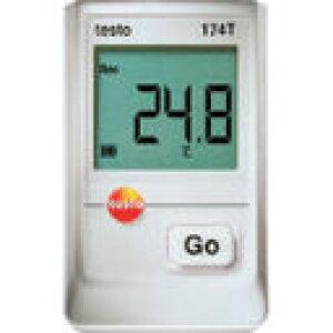 (株)テストー テストー ミニ温度データロガ TESTO174T (368-9336) 《温度計・湿度計》