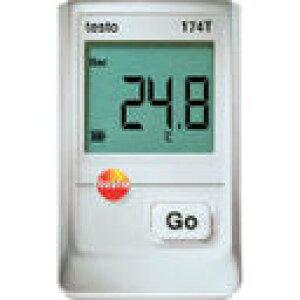 (株)テストー テストー ミニ温度データロガUSBインターフェイス付セット TESTO174T-S (368-9344) 《温度計・湿度計》