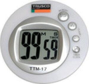 TRUSCO カラータイマー レインボー TTM-17 (352-0625) 《ストップウォッチ・タイマー》